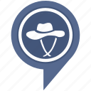 clothes, clothing, cowboy, fashion, hat, style, wear icon