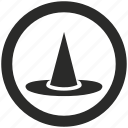 dress, halloween, hat, magic, wizard icon