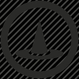 dress, halloween, hat, magic, wizard icon