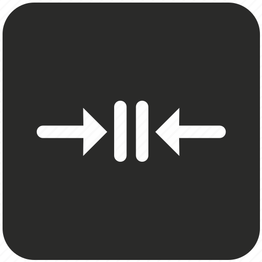 arrows, collision, conflict, crash, horizontal, navigation, pause icon