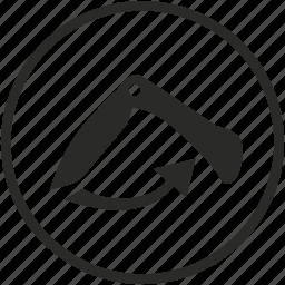 compact, fold, kitchen, knife, swiss icon