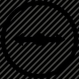 arrow, cursor, horizontal, location, map, pointer, scroll icon