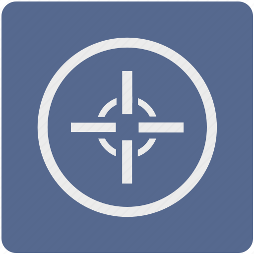 cursor, game, map, navigation, pointer, shooter icon