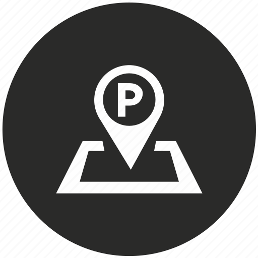 gps, map, navigation, parking, place, pointer icon