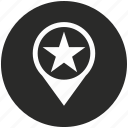 map, place, star, pointer, point, navigation, location