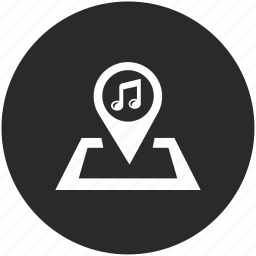 audio, music, note, player, pointer, sound, volume icon