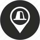 gps, map, navigation, place, pointer, signal icon