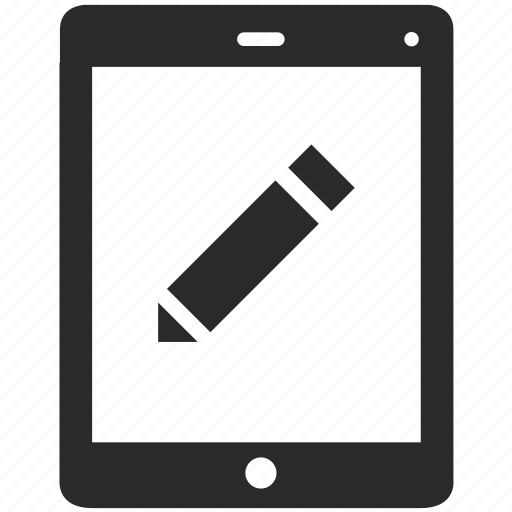 display, edit, file, mobile, phone, smartphone, text icon