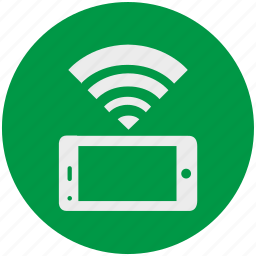 connection, internet, mobile, smartphone, web, wifi icon
