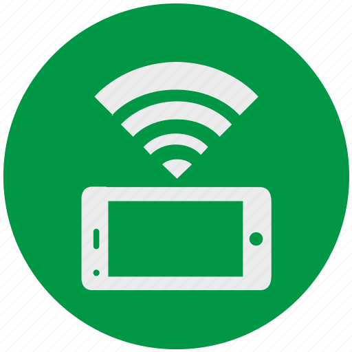Internet, smartphone, wifi, connection, mobile, web icon - Download on Iconfinder