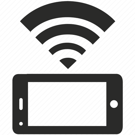 connection, free, internet, mobile, network, smartphone, wifi icon