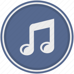 audio, functions, music, note, smartphone, sound icon