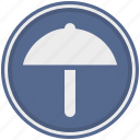 functions, protection, rain, safety, umbrella, weather icon