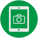 camera, display, photography, smartphone, tablet icon