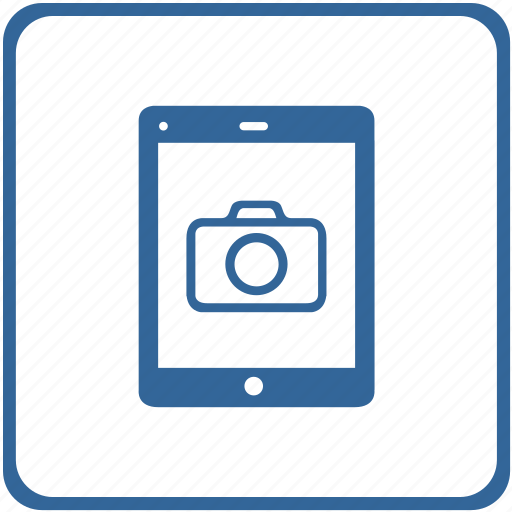 camera, display, gallery, mobile, photo, smartphone, tablet icon