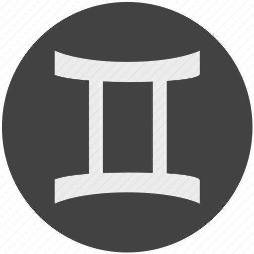 gemini, horoscope, sign, zodiac icon