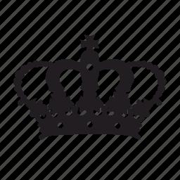 crown, monarch icon
