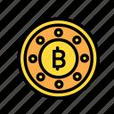 blockchain, currency, engine, finance, network icon