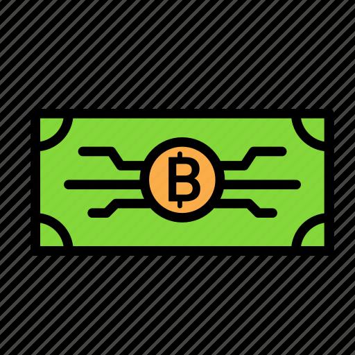 blockchain, currency, finance, money, network icon