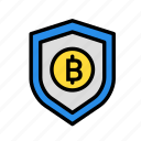 blockchain, currency, finance, network, servers icon