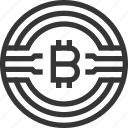 bitcoin, certificate, crypto, currency, electronic, mining, money, peer, signature, to icon
