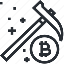 bitcoin, blokchain, coin, cryptocurrency, line, mining, trade