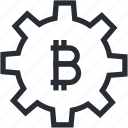 trade, bitcoin, technology, blokchain, wallet, cryptocurrency, mining icon