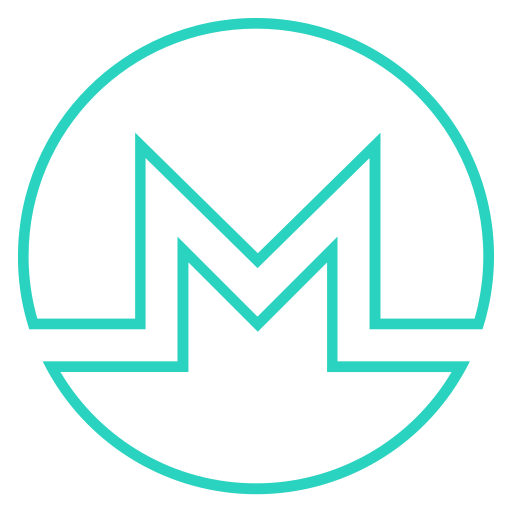 Coin, cryptocurrency, currency, digital currency, monero icon