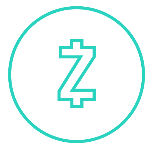 coin, cryptocurrency, currency, digital currency, money, zcash icon
