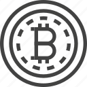 bitcoin, business, coin, cryptocurrency, finance, money icon