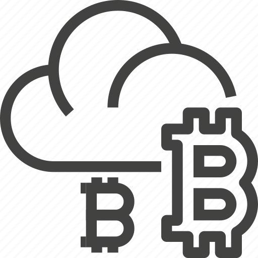 cloud, cryptocurrency, database, server, storage icon