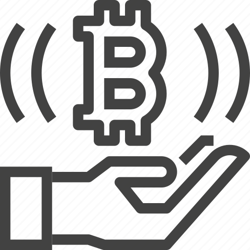 bitcoin, business, cryptocurrency, money, payment, receive icon