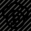 bitcoin, cloud, crypto, data, digital icon