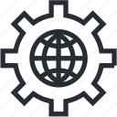 bitcoin, blokchain, market, mining, network, technology, trade icon