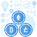 bitcoin, coin, cryptocurrency, currency, finance, money