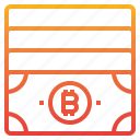 bitcoin, cash, cryptocurrency, money icon