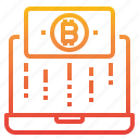 bitcoin, cryptocurrency, money, payment icon