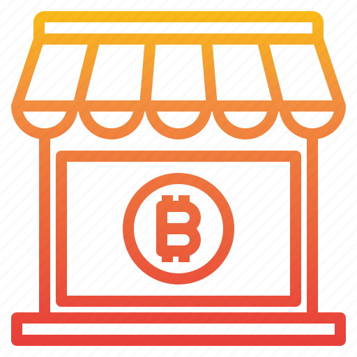 Bitcoin, cryptocurrency, money, shopping icon - Download on Iconfinder