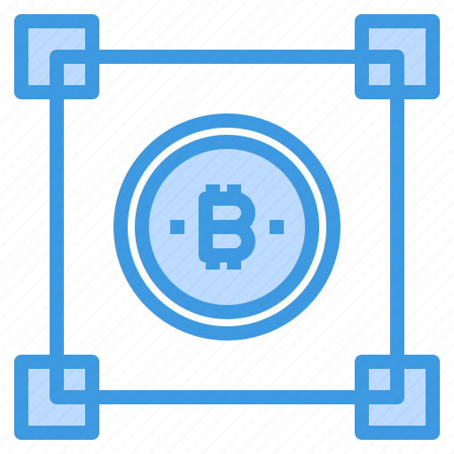 Bitcoin, blockchain, cryptocurrency, money icon - Download on Iconfinder