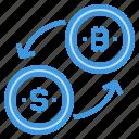 bitcoin, cryptocurrency, exchange, money