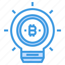 bitcoin, cryptocurrency, inovation, money icon
