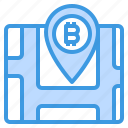 bitcoin, cryptocurrency, location, map, money