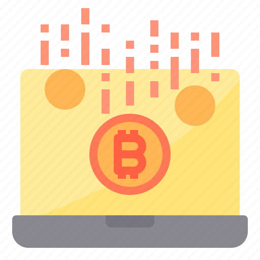 bitcoin, cryptocurrency, earning, money icon