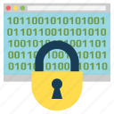 cryptography, cryptoicons, encryption, lock, padlock, protection, window icon