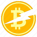 bitcoin, business, cryptocurrency, cryptoicons, halving, money icon