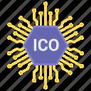 blockchain, cryptocurrency, cryptoicons, ico, mining, token icon