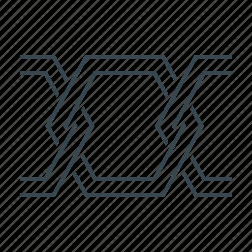 block, blockchain, chain, cryptocurrency icon