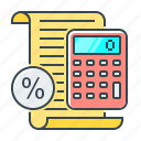accounting, percentage, taxes, calculate, calculation, calculator