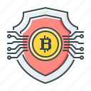asset, asset protection, bitcoin, cryptocurrency, protection, security, shield icon