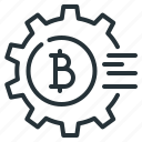 bitcoin, crypto, crypto technology, cryptocurrency, technology icon
